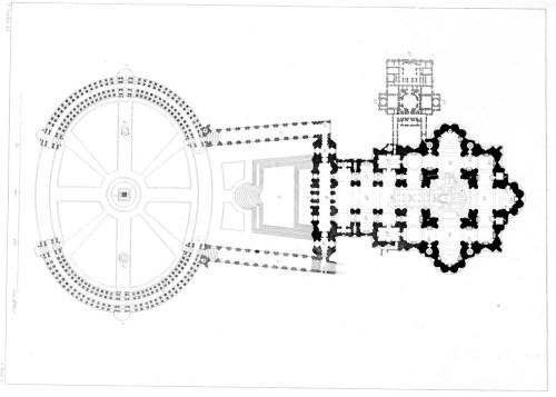 small resolution of floor plan of saint peter s basilica