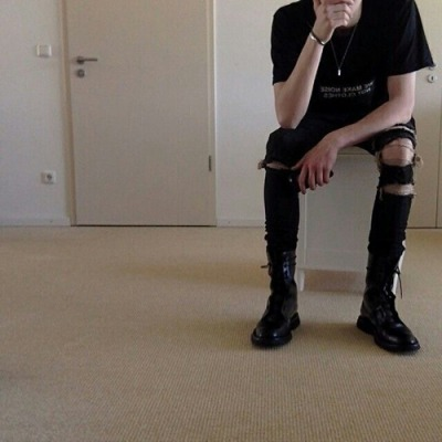 black clothes tumblr