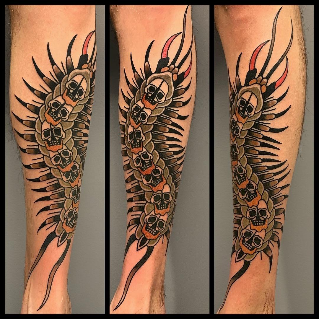 Abel Tatu Porn skingdomtattoo: scolopendra tattoodap_skin… – tattoo