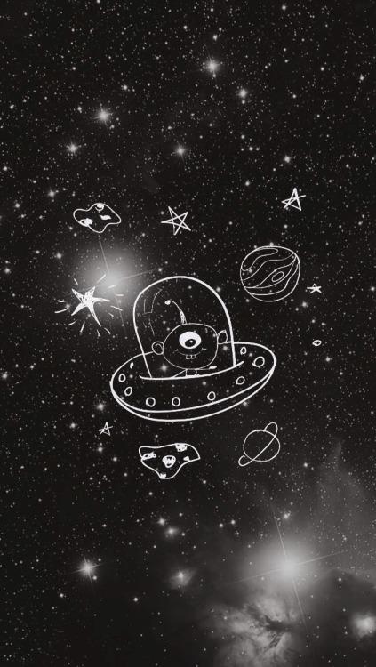 Falling Stars Grunge Wallpaper Background Tumblr Hipster Galaxy Tumblr