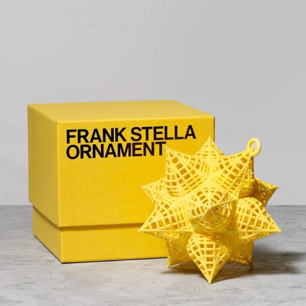 Liz Plahn - Packaging Design Frank Stella Ornaments;