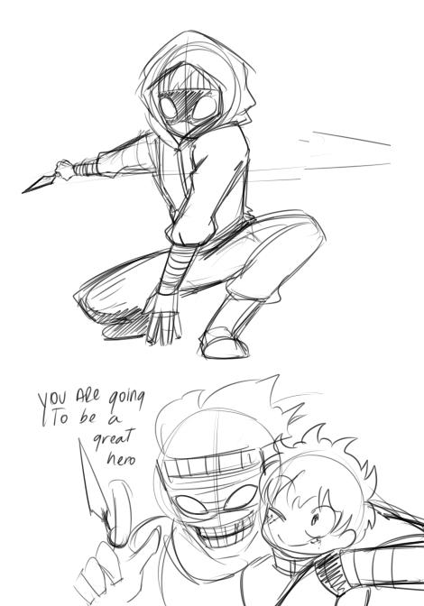 Drawing a lot  How do you feel about Deku Villain AU