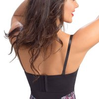 Lowla Fashion Shapewear Brasier Estampado 1007 Bustier Push Up Printed Bra. Perfect for the person that wants a  good high waist shapewear, these panty girdles for women are stunning. The lace details all around the body makes this a n ultra feminine shapewear lingerie piece. The panel fabric on the front of this pantie girdle provides support while th e sheer details make this piece breathable and invisible under clothes. The high waist band in this girdle lingerie will  make sure they don't move through the day. Mon, 22 Jun 2020 04:50:05 +0400