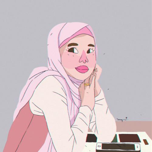 Hijab Girl Drawing Tumblr
