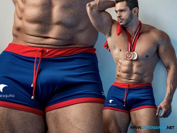 Lucas Mesquita pau grande na underwear