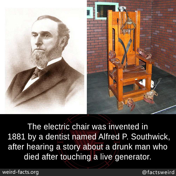 electric chair was invented by rocking design guidelines weird facts the in 1881 a may 25 2018 207 notes chairalfred
