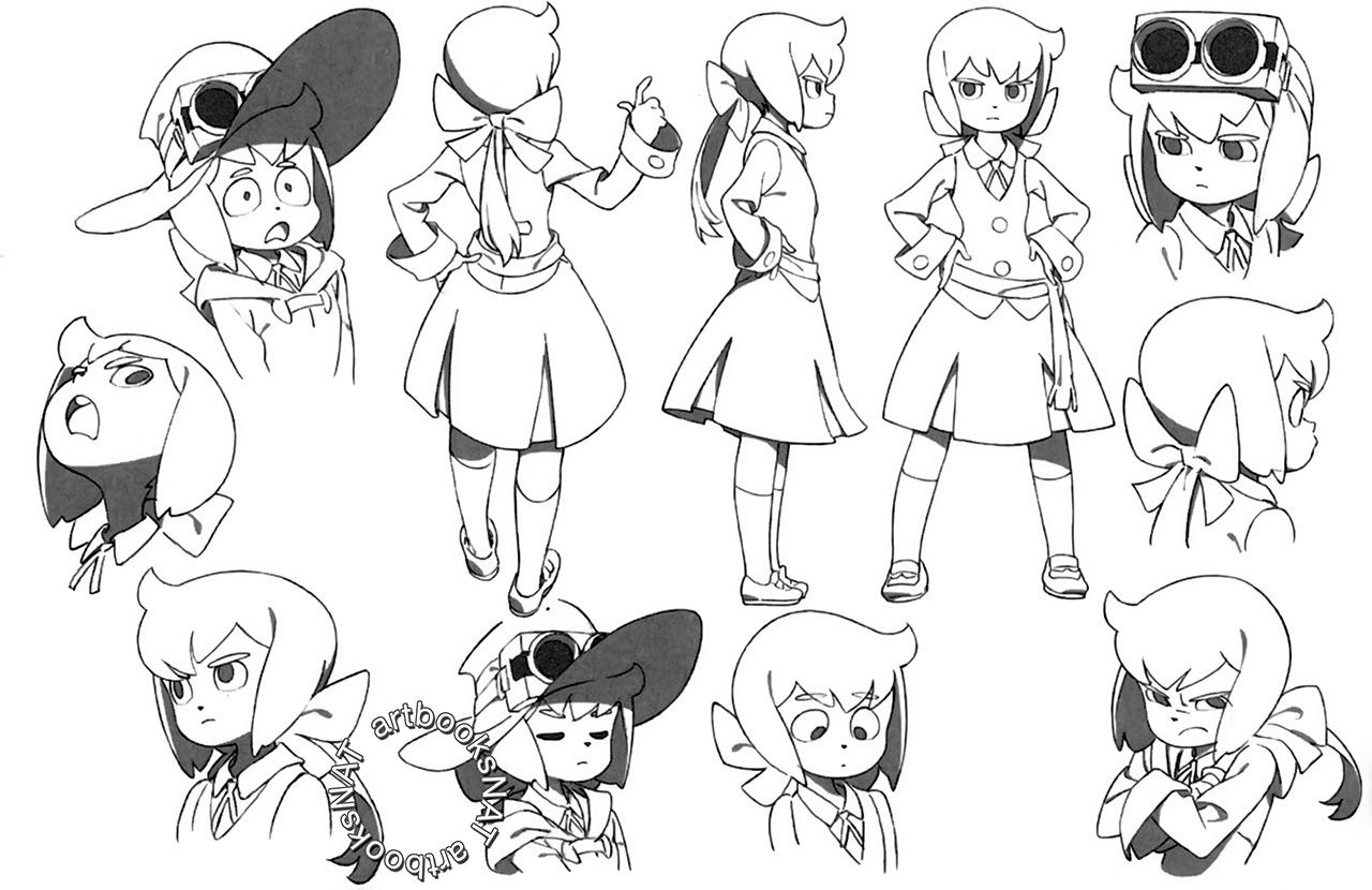 Source Artbooksnat 7 8 Little Witch Academia