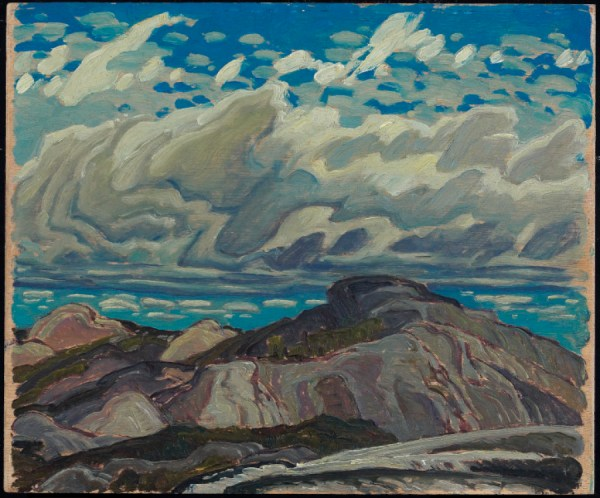 Art Of Day October Cranberry Hills 1943