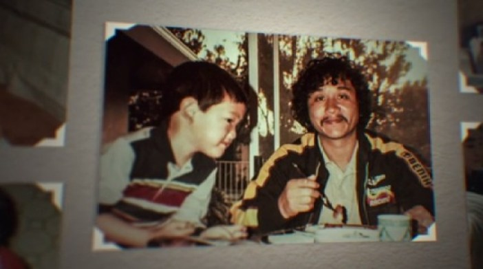 Steve Aoki y su padre | Foto: Netflix