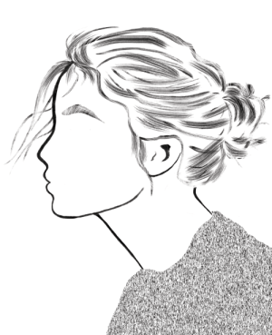 grunge simple drawing