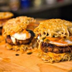 aesthetic fast food burger