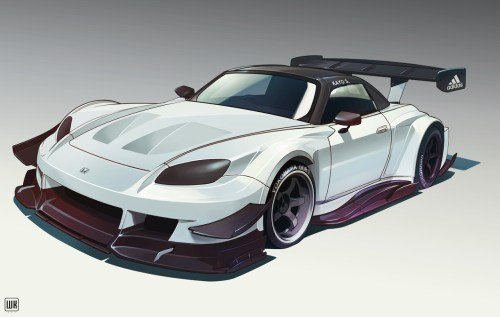 small resolution of time attack full aero package honda s2000 concept