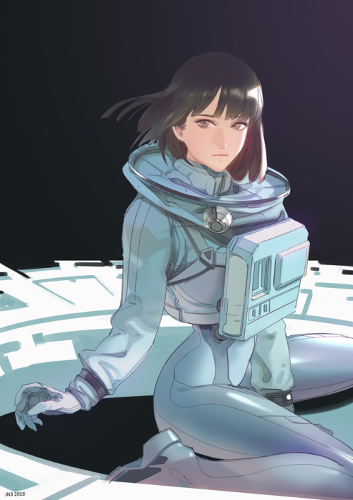 Lonely Wallpaper For Girl Anime Astronaut Tumblr