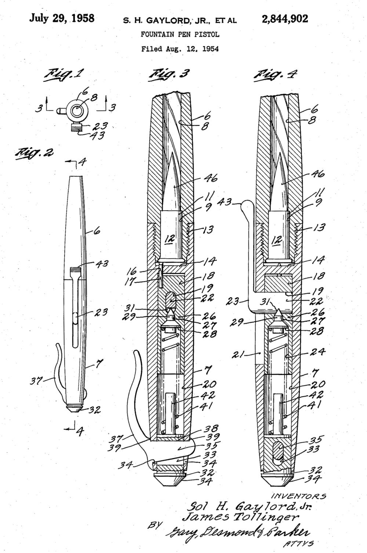 medium resolution of gaylord fountain pen pistol