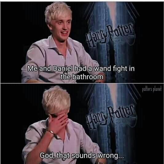harry potter - hogwarts logic - twitter - funny memes - Funny Memes