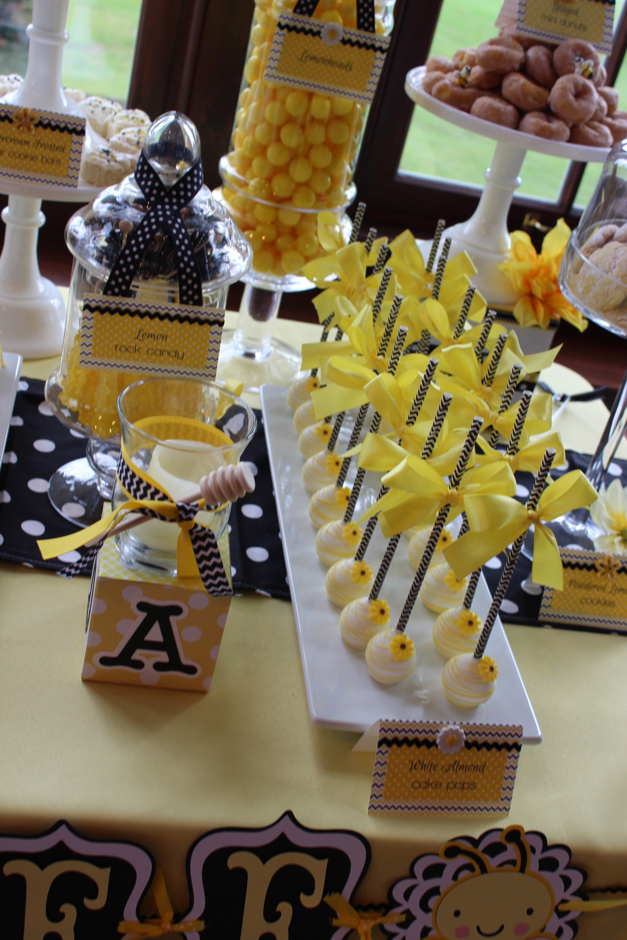 Sweet Simplicity Bakery  Bumblebee Themed Baby Shower Mommy To Bee