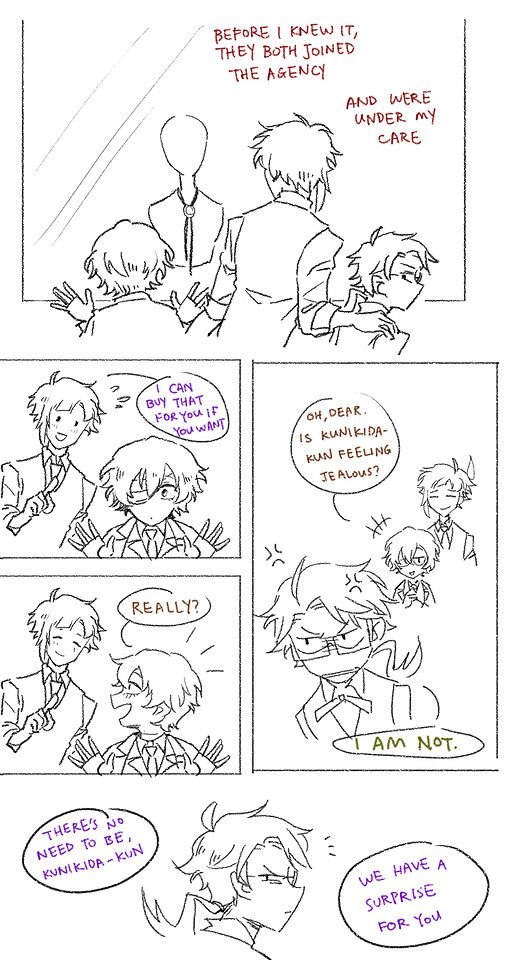 time to scale the tips — AGESWAP AU PART 5!!! This one is really long...