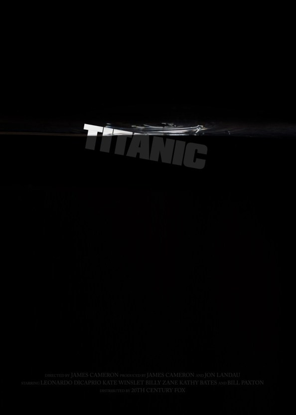 Day 276: Titanic. #amovieposteraday
