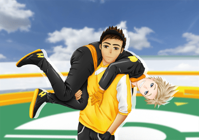 spark x male trainer