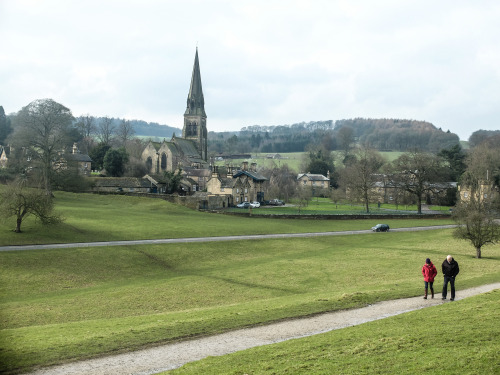 Edensor, Peak District
