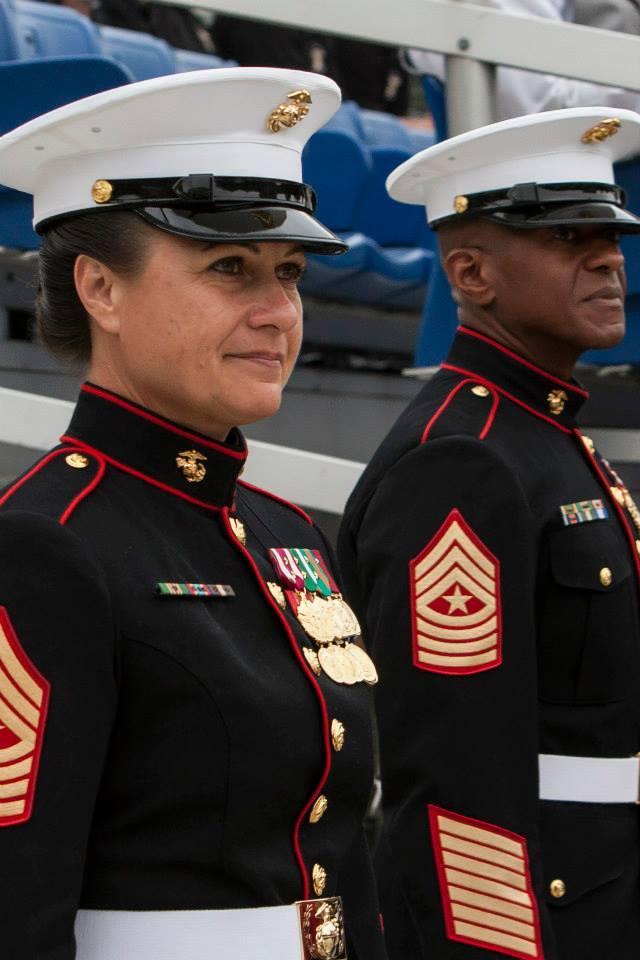 creepin marines new female