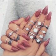 elegant nail design