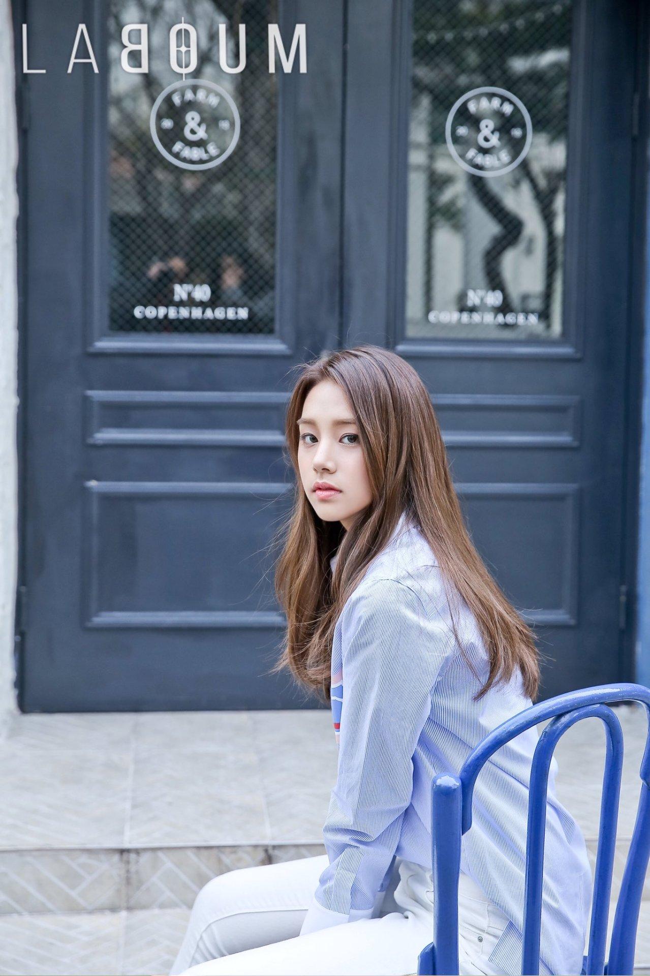 Solbin (Laboum) - Fresh Adventure - Korean photoshoots