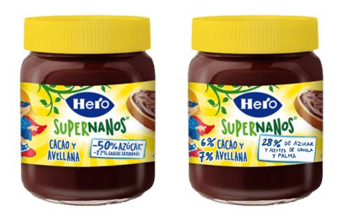 Etiquetado realista en alimentos