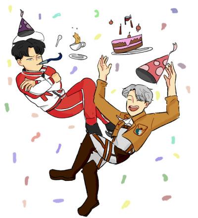 happy birthday for both