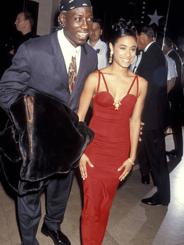 Wesley Snipes dating Halle Marja