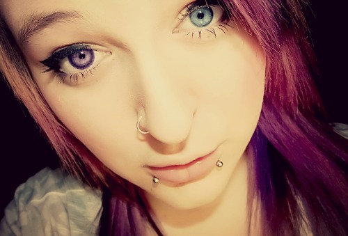 Two Different Colored Eyes On Tumblr