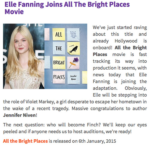 Image result for violet all the bright places