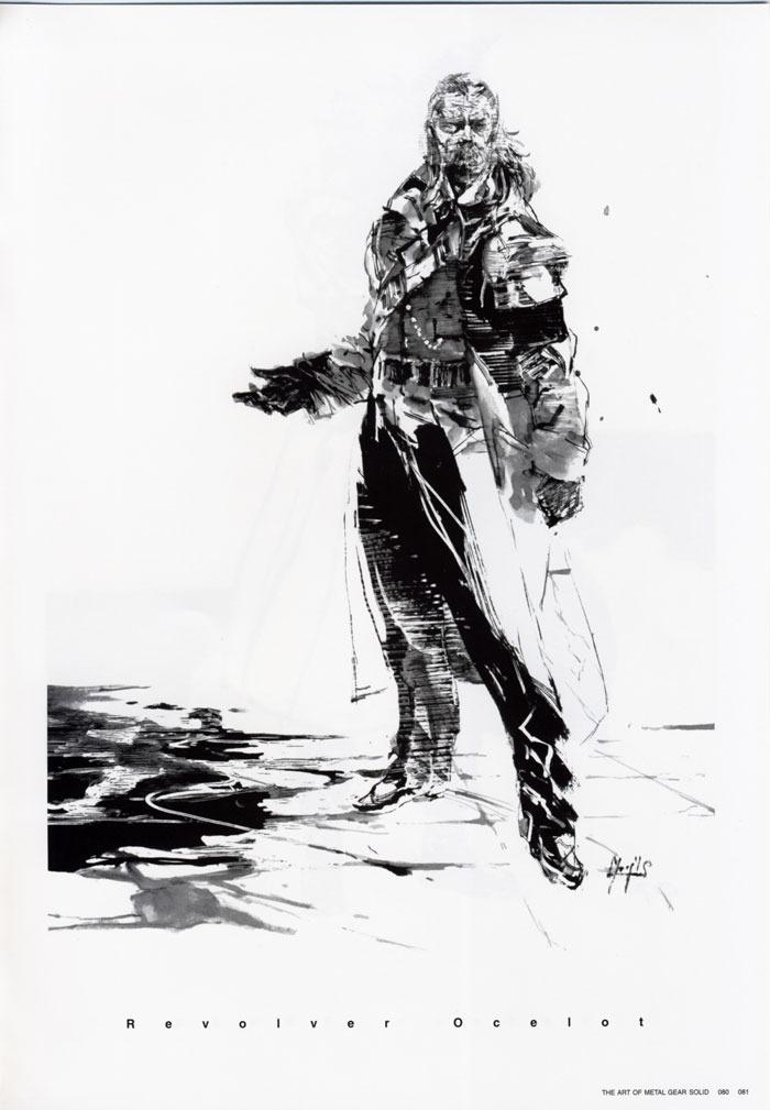capitán pescanova, Metal Gear Solid by Yoji Shinkawa