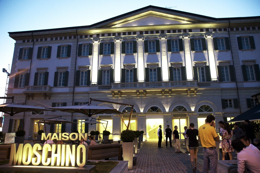 Maison Moschino Milan Italy Housed In A 19th