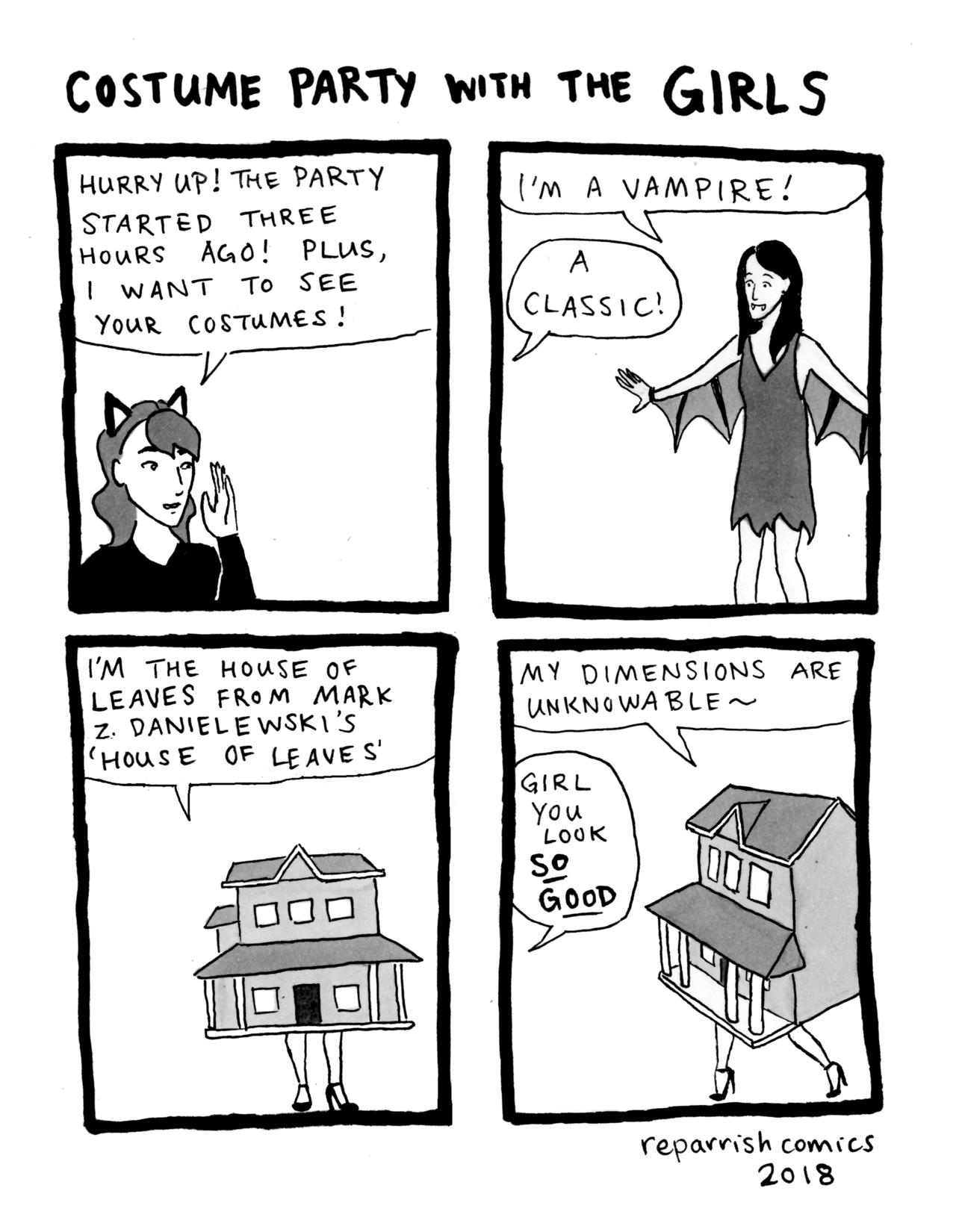 Comics by R.E. Parrish — hee hee hee hoo hoo hoo (written
