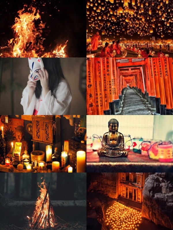 Aesthetic Moodboards Candles - Year of Clean Water