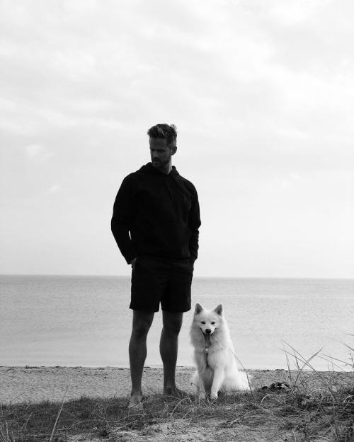 Man & dog @kasperkramer by @helgiomarsson 1