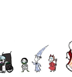 ooc the nightmare before christmas but genderbent really nothing new to add or [ 1732 x 500 Pixel ]