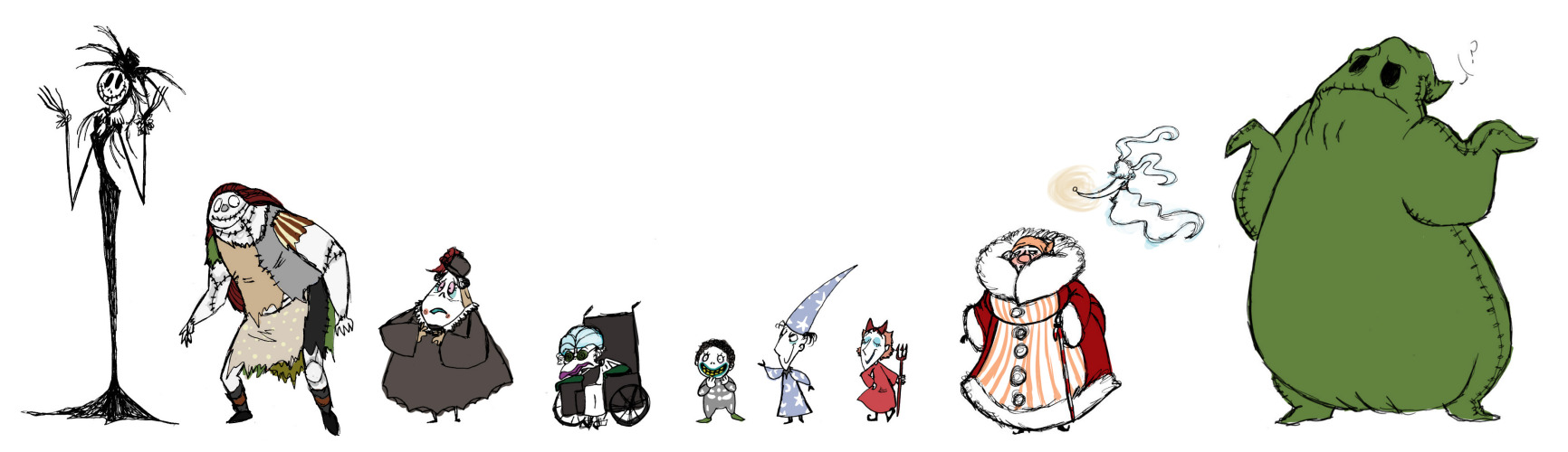 hight resolution of  ooc the nightmare before christmas but genderbent really nothing new to add or