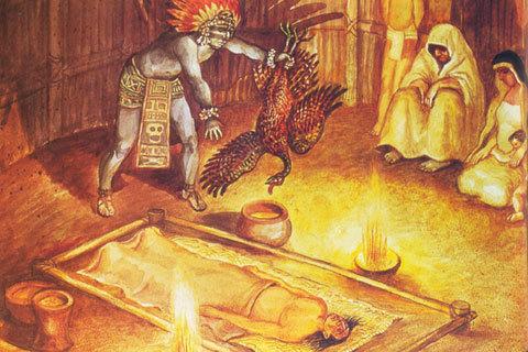 Resultado de imagen de sacrificios animales rituales