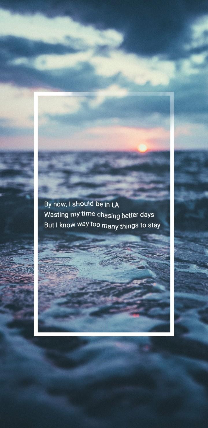 Lockscreen Quotes Wallpaper Jeremy Zucker On Tumblr