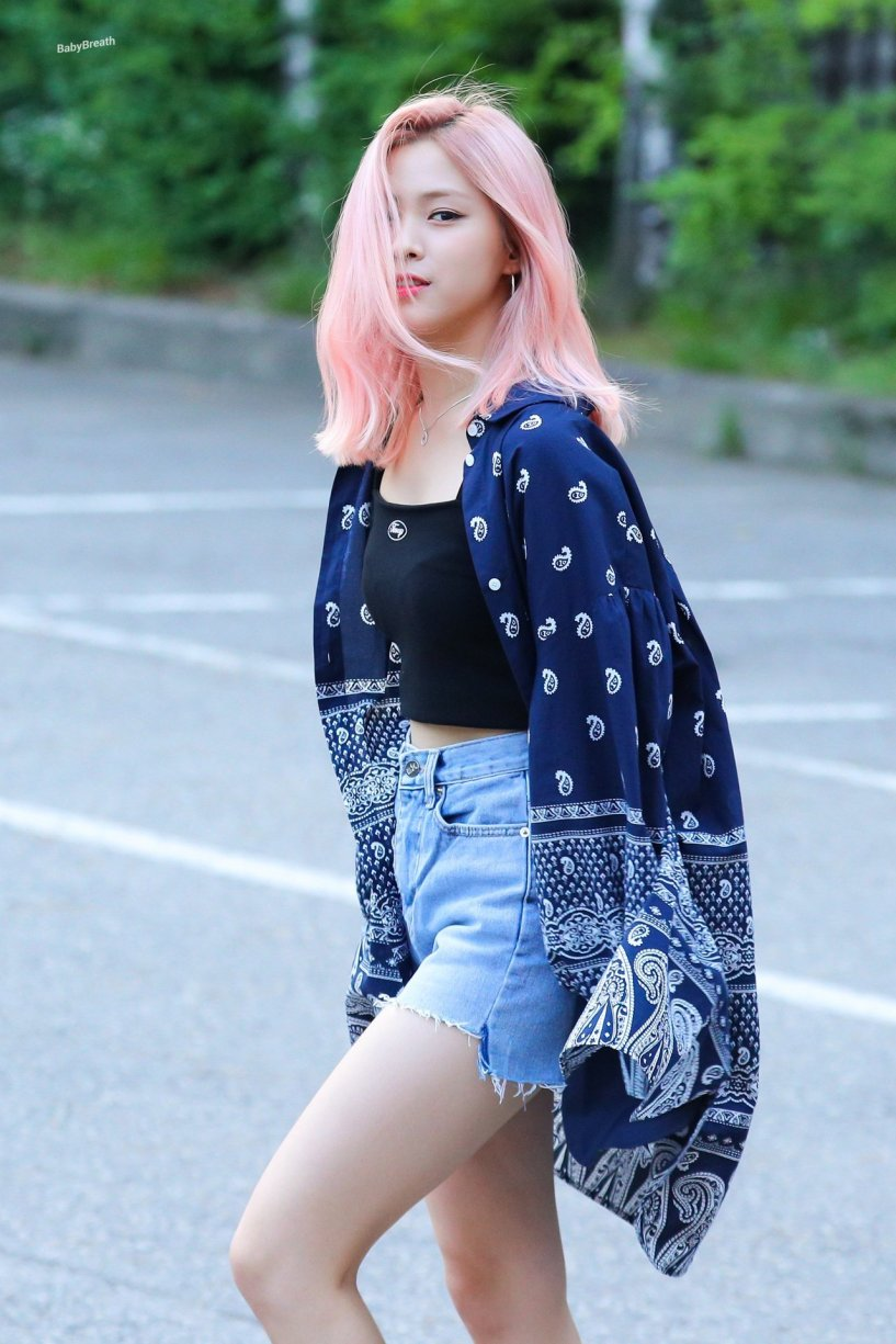Has Everyone Tried The Pink Hair Ryujin I Think The Pink