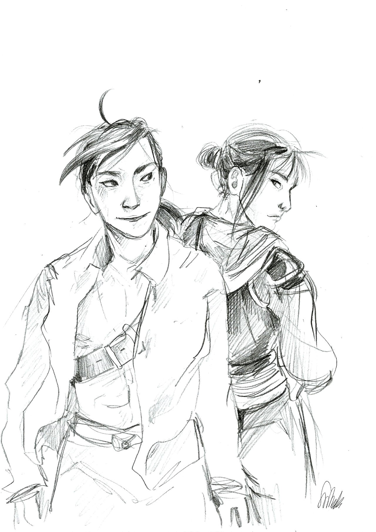 there's a hole in my soul — Ling and Lan Fan, as promised