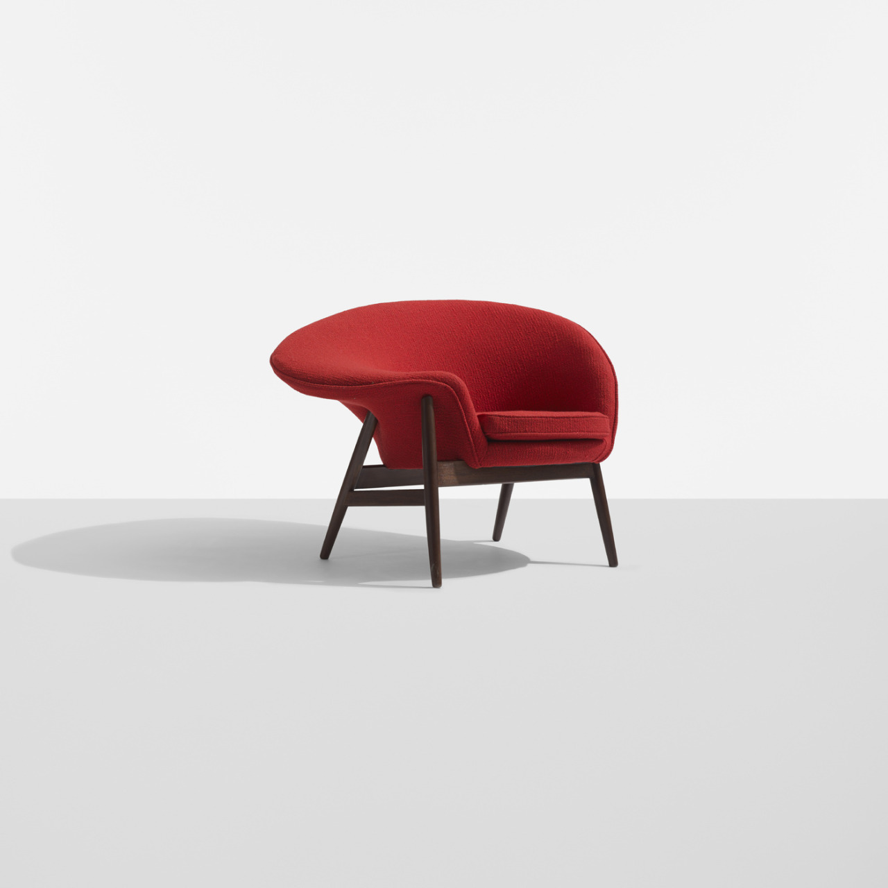 fried egg chair arts and crafts style analog dialog hans olsen