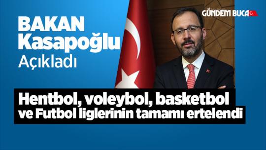 Bakan Kasapoğlu Açıkladı Tüm Sportif Ligle