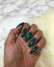 green marble nails