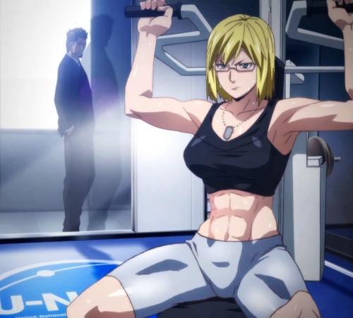 10 Personagens Musculosos dos Animes mais queridos pelo público - Homens e Mulheres