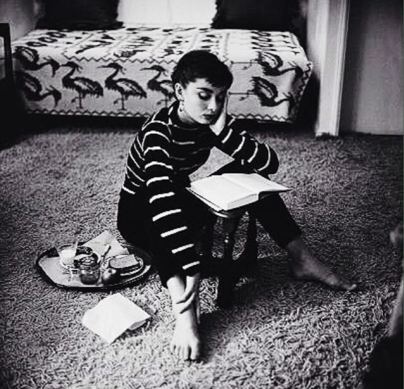 Audrey Hepburn Reads