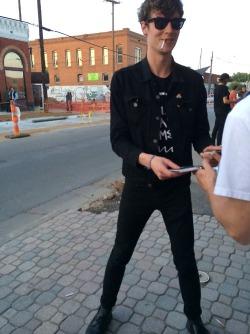 black denim jacket tumblr