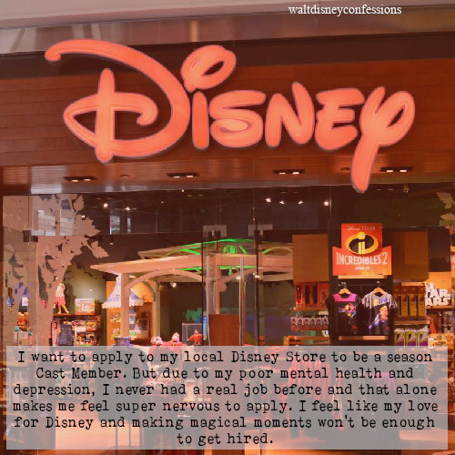 I want to apply to my local Disney Store to be… – Disney
